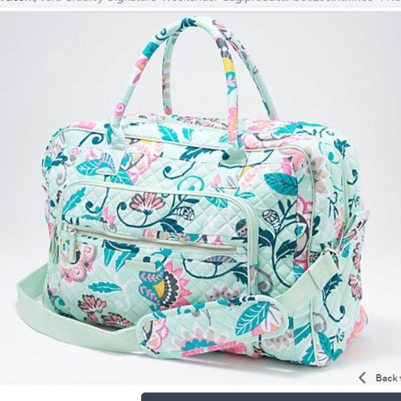 NEW w/ tags Vera bradley weekender bag!